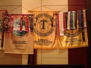 Banner in Prag
